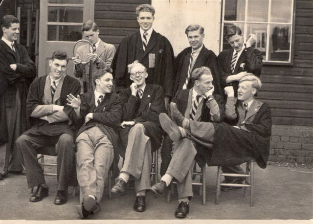 George in 1951 (Front row 2nd from left)